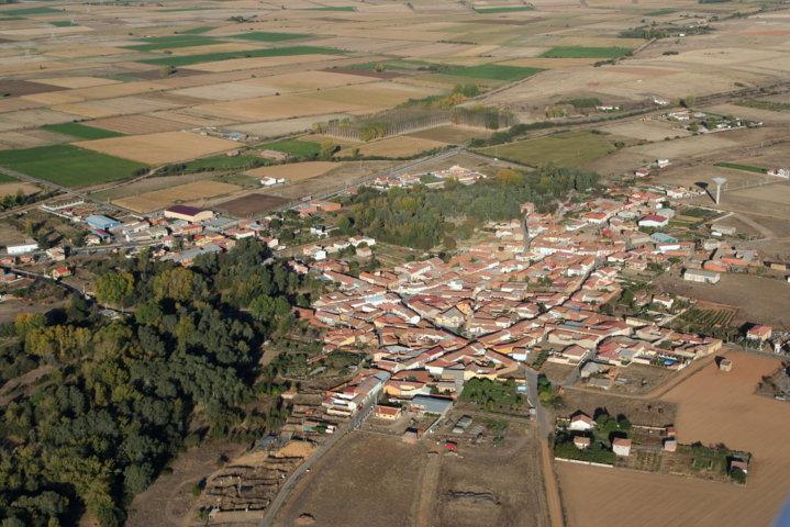 Vista aerea villar de mazarife