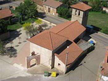 iglesia ardoncino vista aerea