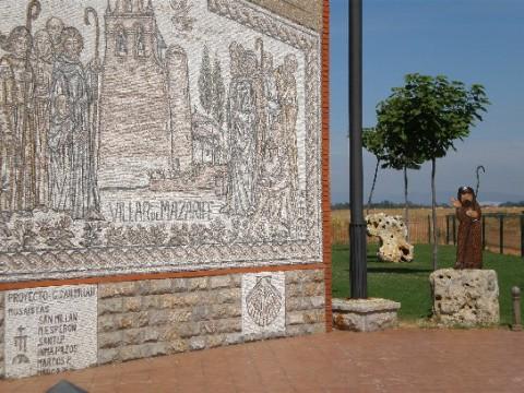 9-mosaico ENTRADA VILLAR DE MAZARIFE